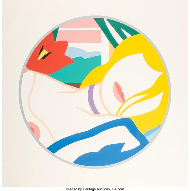 Tom Wesselmann, 'Blonde Vivenne', 1988-89, Print, Screenprint in colors on museum board, Heritage Auctions