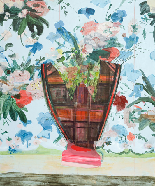 Jeanne Hoffman | Self-portrait as a vase (2021) | Artsy