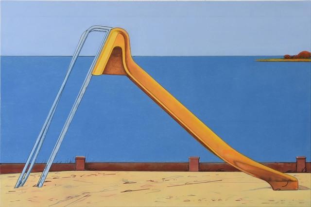 , 'Rutsche,' 2017, Gaa Gallery