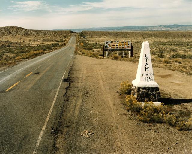 , 'Utah-Colorado State Line, Highway 50,' 1982, Kopeikin Gallery