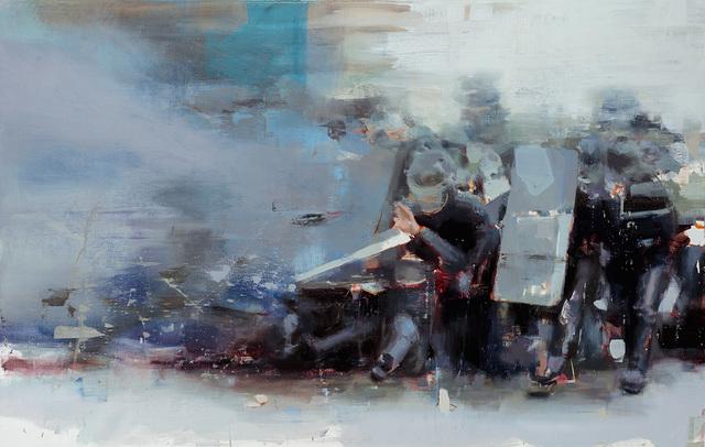 , 'Esthetic of a Melee,' 2017, Lazinc