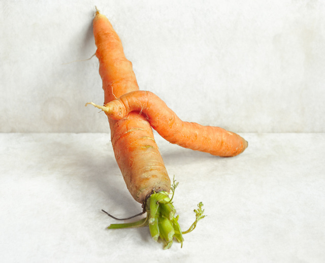 , 'Carrots (against the wall),' 2007, Hodges Taylor