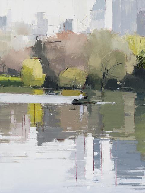 , 'Boaters,' 2017, Kathryn Markel Fine Arts