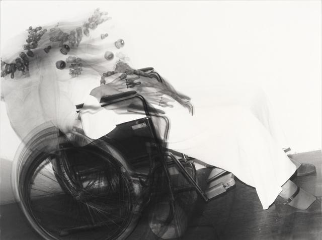 , 'Schwangere Braut im Rollstuhl (Pregnant bride in wheelchair),' 1976, Richard Saltoun