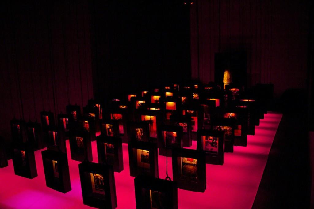 Installation view: Chittrovanu Mazumdar, Untitled, 2007