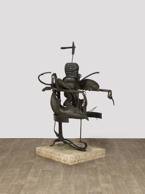 Daniel Spoerri, 'Idol', 1990, Sculpture, Bronze with brown patina, Alex Daniels - Reflex Amsterdam