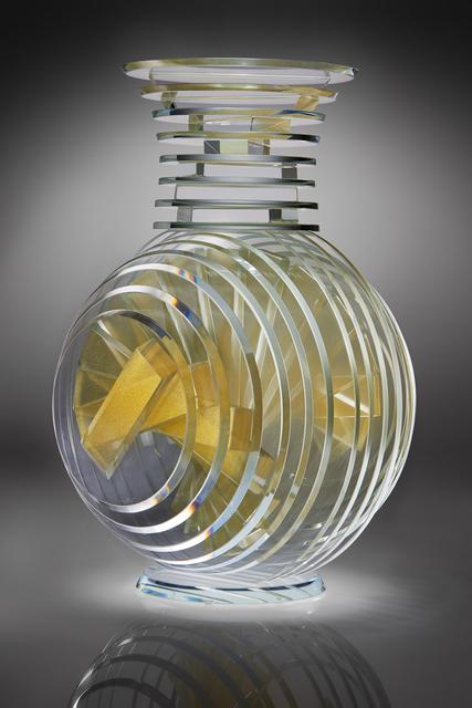Sidney Hutter, 'Goldie Vertical Vase', 2017, Raven Gallery