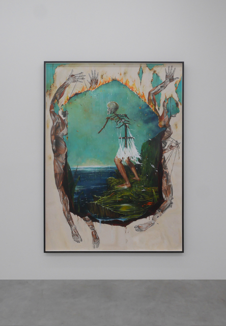 , 'Coast (Otherworld),' 2017, V1 Gallery