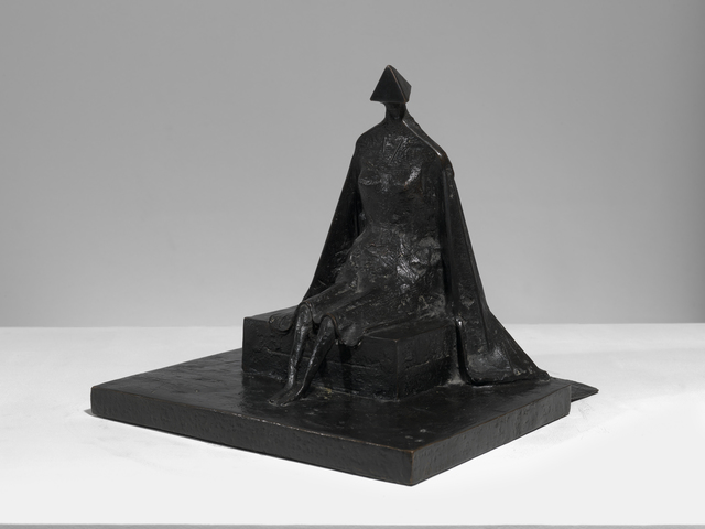 , 'Sitting Woman in Robes I,' 1987, Osborne Samuel