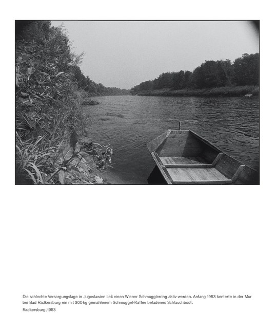 , 'Staatsgrenze 1981-1983 (Radkersburg),' 2016, Thomas Fischer