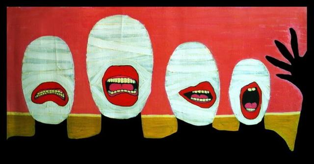 , 'We are Shy Nudists,' 2010, 11 [HellHeaven]