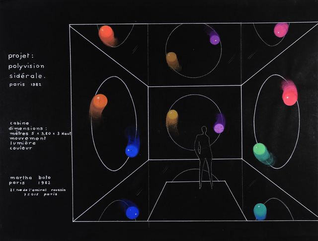 , 'Proyect Polyvision Sìderale,' 1982, Del Infinito