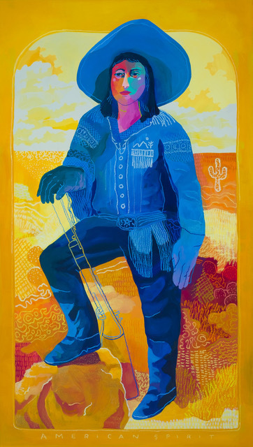 John Holcomb, 'American Spirit (Yellow)', 2019, Rebecca Hossack Art Gallery