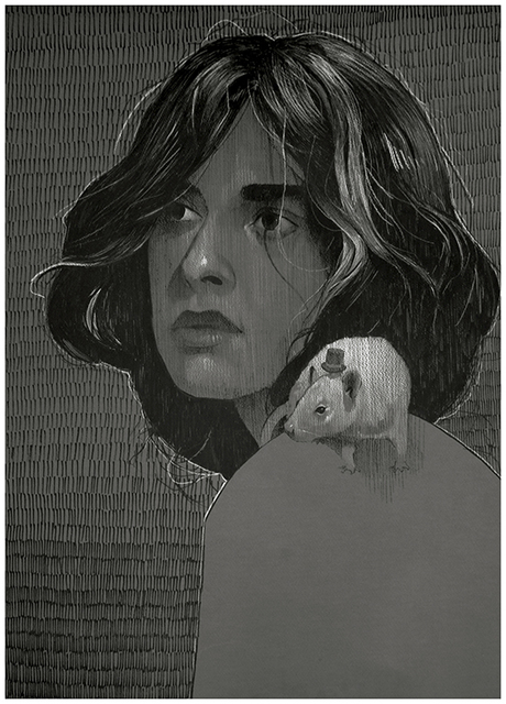 , 'Rat Girl,' 2017, Spoke Art