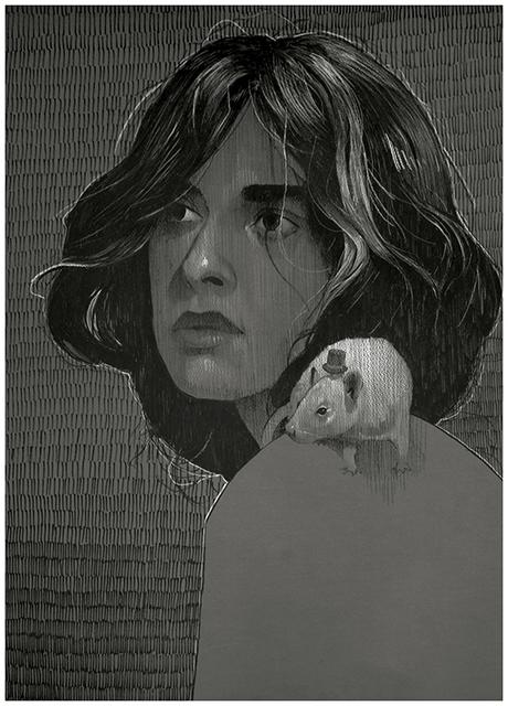 BEZT (Etam Cru), 'Rat Girl', 2017, Hashimoto Contemporary
