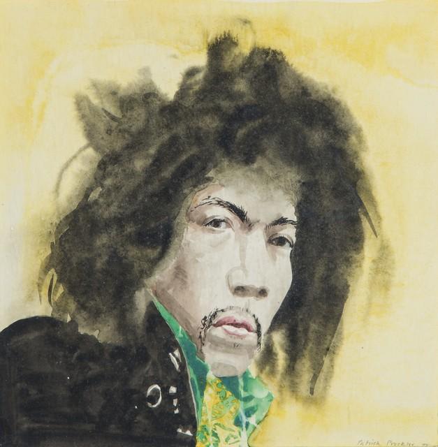 , 'Jimi Hendrix,' 1973, Christopher Kingzett Fine Art