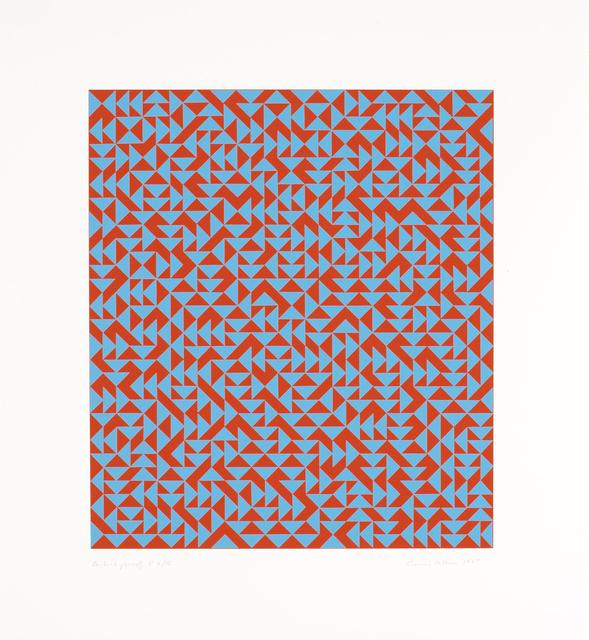 , 'C,' 1969, Alan Cristea Gallery