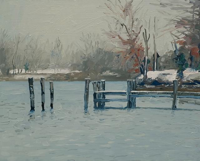 , 'Winter Cove,' , Davis Gallery & Framing