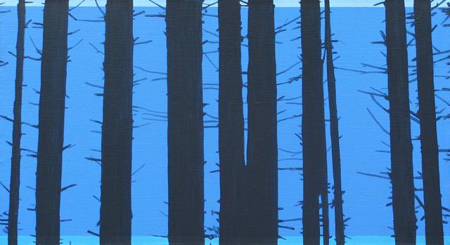 , 'Trees 21 October 14:15,' 2015, Galerie Sandhofer