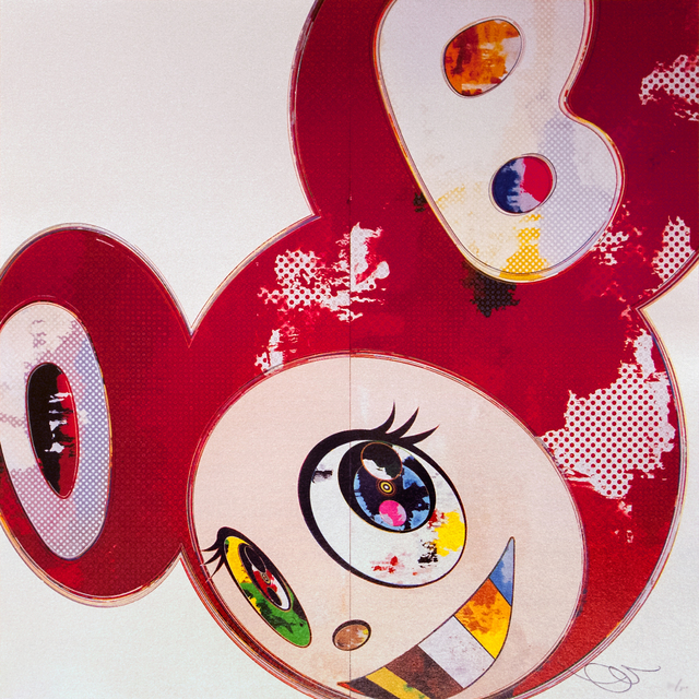 Takashi Murakami, 'And Then... (red)', 2013, DTR Modern Galleries