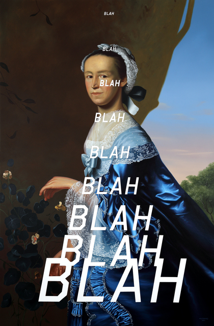 , 'Mrs. James Warren: Blah Blah Blah ,' 2017, Foster/White Gallery