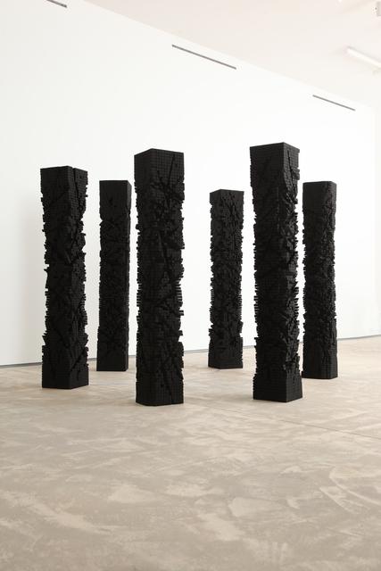 Shayne Dark, 'Heroes', 2013, Sculpture, Wood, acrylic, Art Mûr