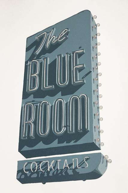 , 'Blue Room,' 2019, Sue Greenwood Fine Art