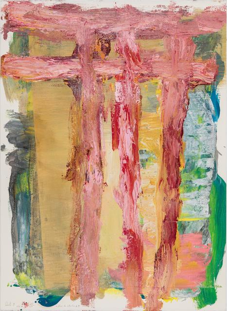 Cabrita, 'As flores de Setembro #19', 2019, Painting, Mixed media on paper, Galeria Miguel Nabinho