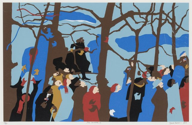 Jacob Lawrence The Swearing In 1977 Artsy