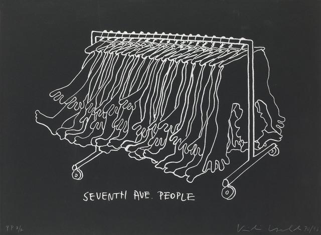 , 'Seventh Avenue People,' 1970, Galerie Kovacek & Zetter