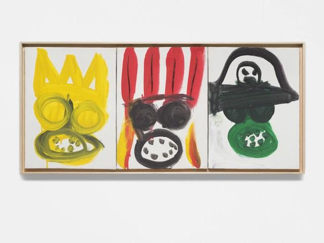 Karl Horst Hödicke, 'Purim (König, Indianer, Pirat)', 1991, KÖNIG GALERIE
