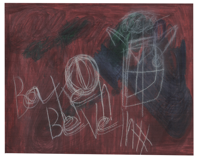 , 'Untitled,' 2008, christian berst art brut