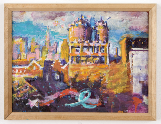 , 'Untitled (rooftop / water towers),' ca. 1987, Mai 36 Galerie