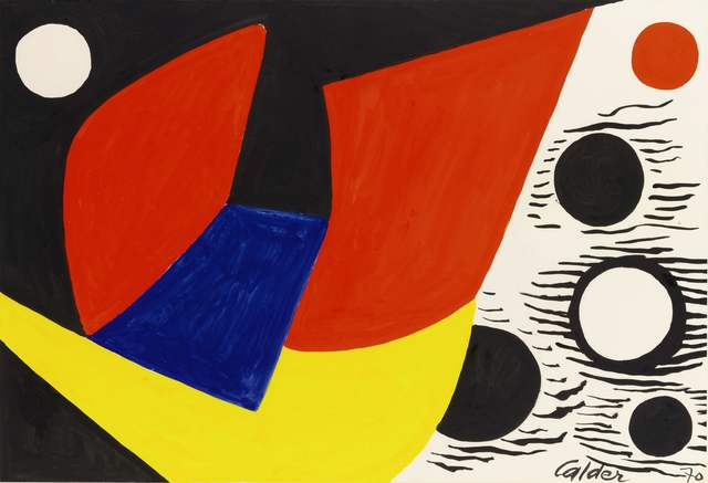 , 'Construction with Orbs,' 1970, Omer Tiroche Gallery