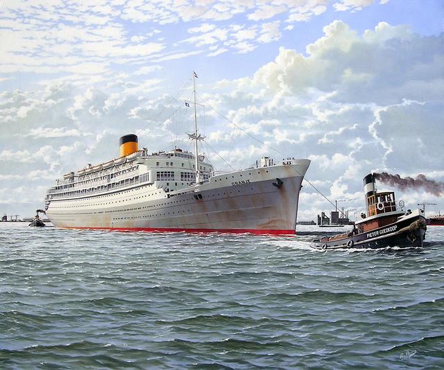 "Rob van Assen, 'Passenger ship the 'Oranje""', ca. 2009, ArtBoutique"