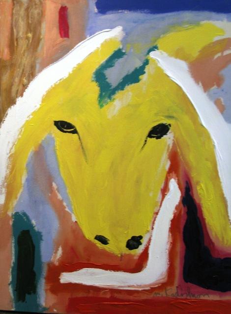 , 'Yellow Sheep Portrait ,' , Galerie AM PARK