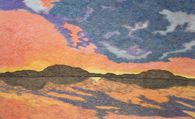 , 'Untitled (Sunset),' 2018, Madrona Gallery