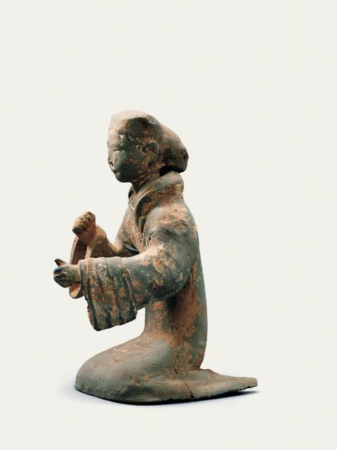 'Musician figurine', 206 BC -9 AD, Musée national des arts asiatiques - Guimet