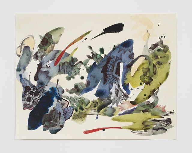 Ahmed Alsoudani, 'Cut of Time 4', 2020, Drawing, Collage or other Work on Paper, Acrylic and pen on paper, Marlborough New York