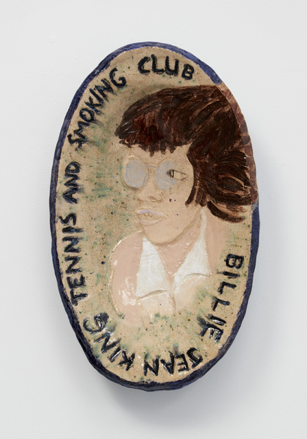 , 'Billie Jean King Tennis and Smoking Club,' 2018, Jane Hartsook Gallery