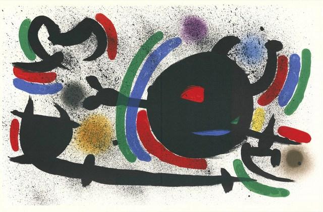 Joan Miró, 'Litografia Originale X', 1972, Cerbera Gallery