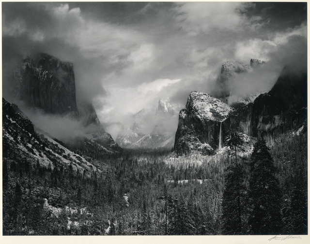 , 'Clearing Winter Storm, Yosemite National Park,' 1944, Etherton Gallery