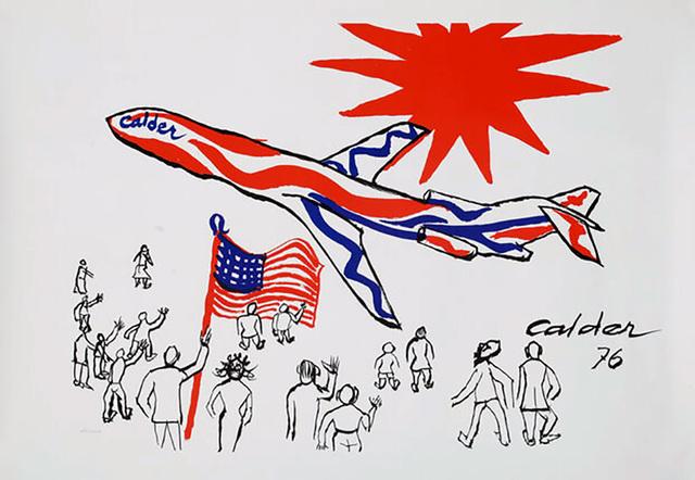 Alexander Calder, 'Alexander Calder Braniff Airlines poster 1976', 1976, Lot 180