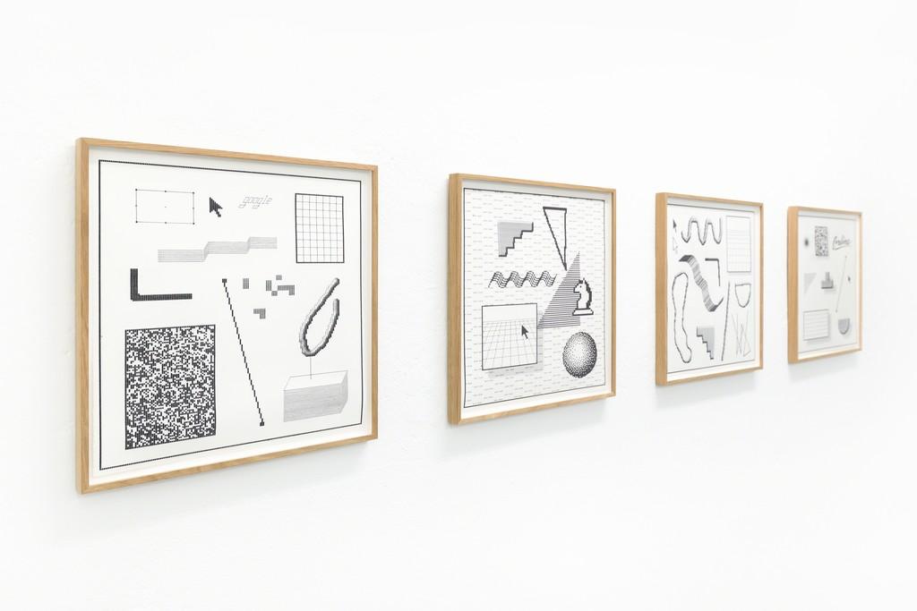 Arno Beck - Installation view
