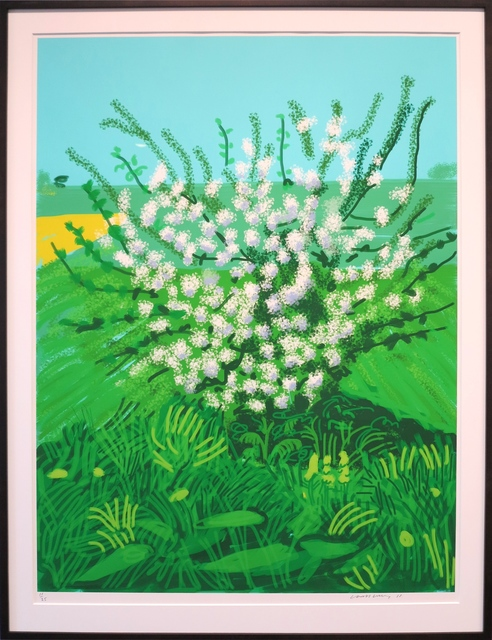 David Hockney, 'The Arrival of Spring in Woldgate, East Yorkshire in 2011(twenty eleven) - 30 April', 2011, IKON Ltd. Contemporary Art