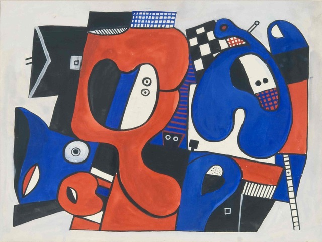 , 'Blue and orange New York,' 1973, Sammer Gallery LLC