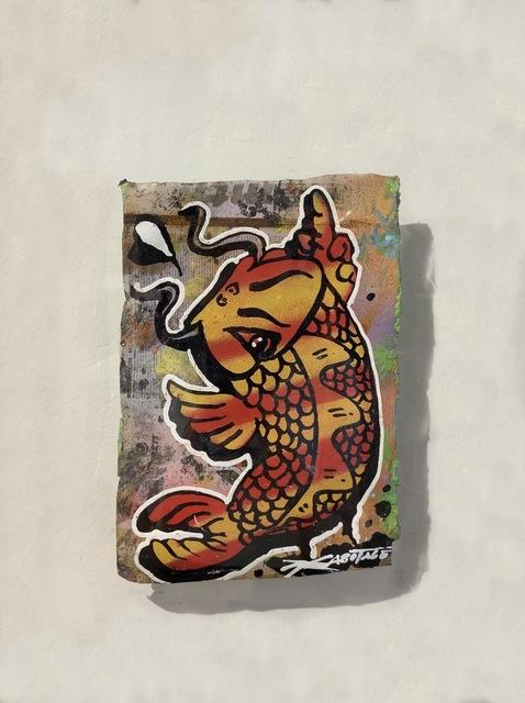 Szabotage, 'Flipping Koi Flame', 2013, Art Supermarket