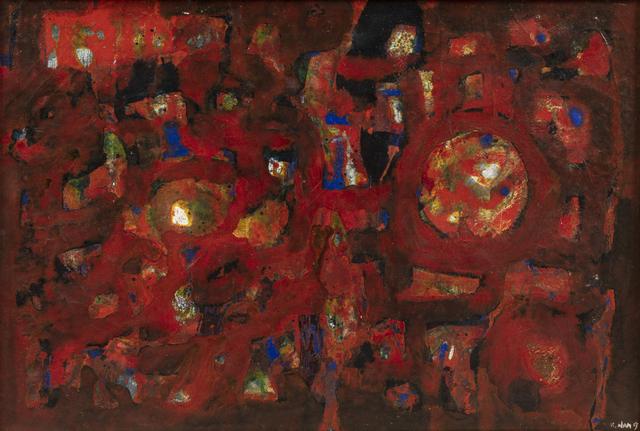 Nam Kwan, 'Composition en rouge', 1963, Millon