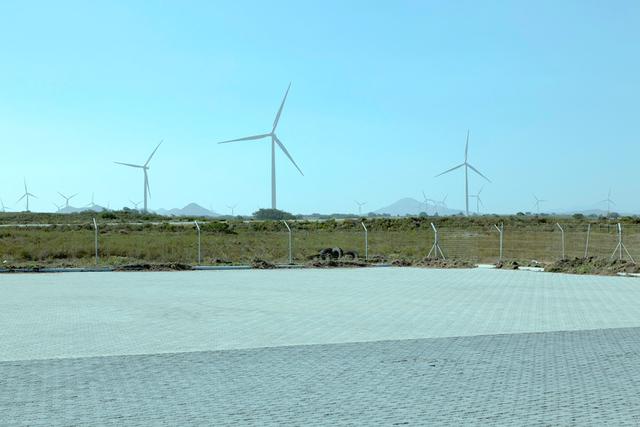 , 'Wind turbines,' 2017, CAMARA OSCURA GALERIA DE ARTE