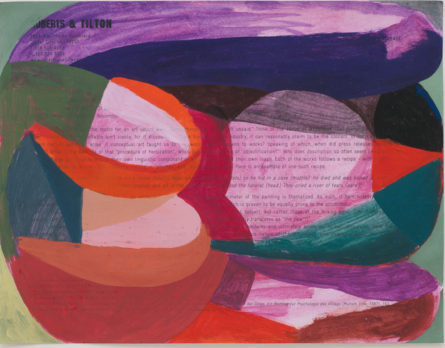 , 'Paperwork 1,' 2012, Roberts & Tilton